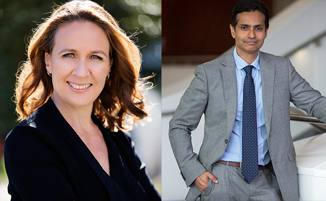 Image: Dr Nicole Lowres and Dr Sanjay Patel